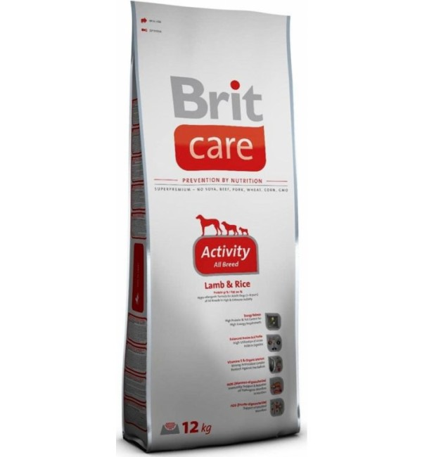 BRIT Care Activity Breed Lamb & Rice