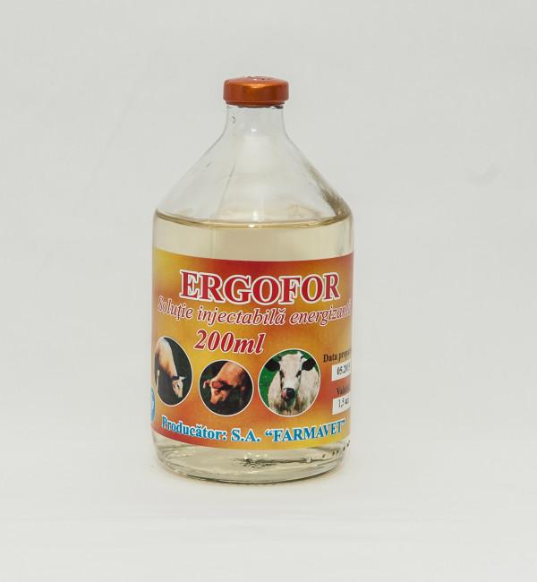 Ergofor sol.injectabilă 200ml