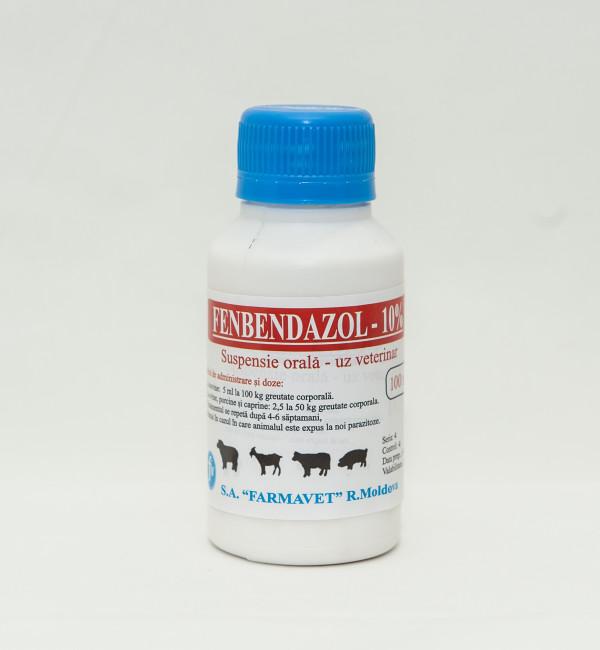 Fenbendazol 10% suspensie 100ml