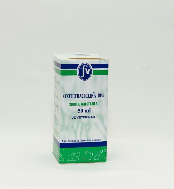 Oxitetraciclină 10% sol.injectabilă 50ml