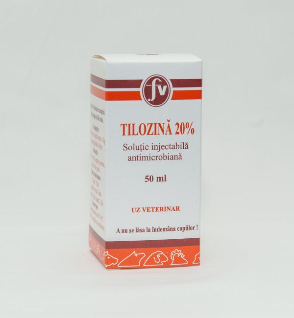 Tilozină 20% sol.injectabilă 50ml